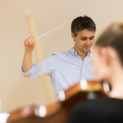 Pascal Tsering Dirigent Zürcher Filmorchester
